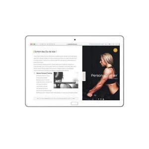 Personaltrainer Homepage
